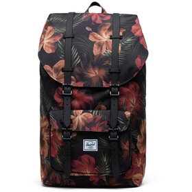 Herschel Little America Backpack tropical hibiscus